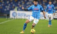 during the italy cup football match SSC Napoli vs Empoli.