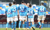 during the italy cup football match SSC Napoli vs ACF Fiorentina.