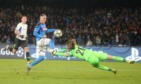 SPORT CL Napoli - Genk in foto  Napoli's forward Jose' Callejon  (Newfotosud Antonio Balasco)