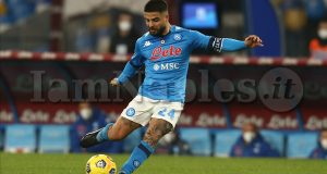 during the Serie A football match between SSC Napoli and Bologna fc at the Diego Armando Maradona Stadium, Naples, Italy, on 07 March  2021