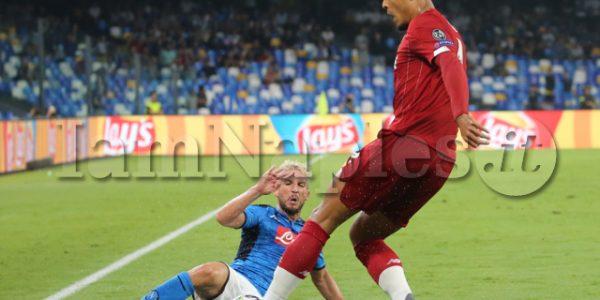 SPORT Champions league SSC Napoli - FC Liverpool in foto Dries Mertens ssc napoli (Newfo tosud Antonio Balasco )