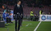 Napoli, Campania, Italy, 03-03-19,Serie A football match SSC Napoli - Juventus in photo Massimiliano Allegri coach of juventus , final score is (Antonio Balasco)