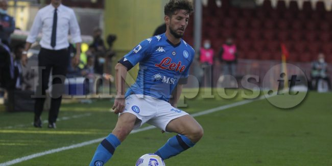 during the Serie A  football match Benevento vs  SSC Napoli
