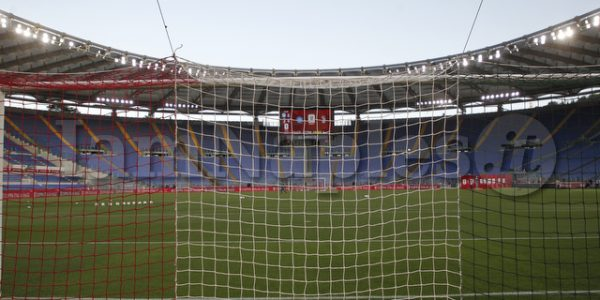 Finale coppa Italia napoli Juventus in foto stadio olimpico