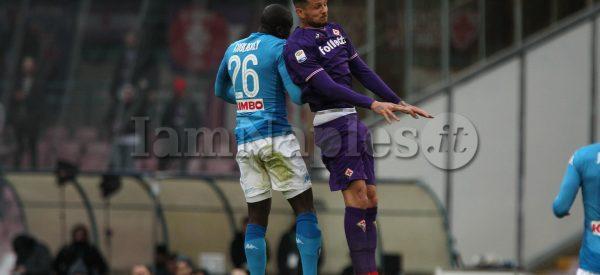 Napoli Fiorentina Koulibaly Thereau
