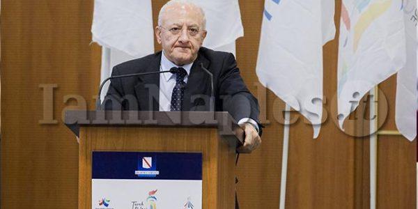 vincenzo de luca regione campania presidente