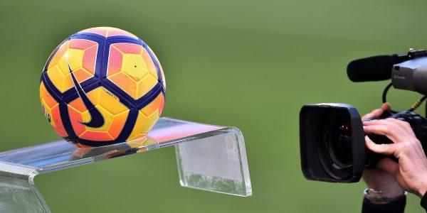 Pallone Serie A Tv Camera  Roma 26-02-2017 Stadio Olimpico Football  Calcio Serie A 2016/2017 Lazio - Udinese Foto Andrea Staccioli / Insidefoto
